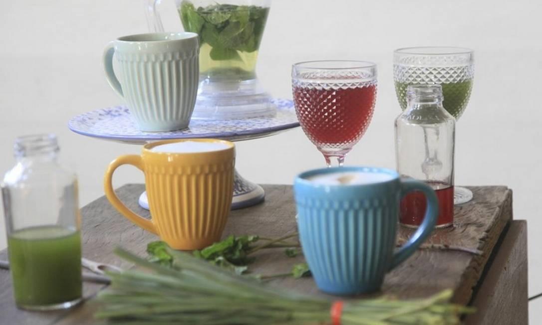 Hora do chá. Zazá Bistro Café tem uma seção inteira, com mais de 10 chás, entre quentes e frias. A partir de R$ 10 Foto: Divulgação/Gabriela Temer
