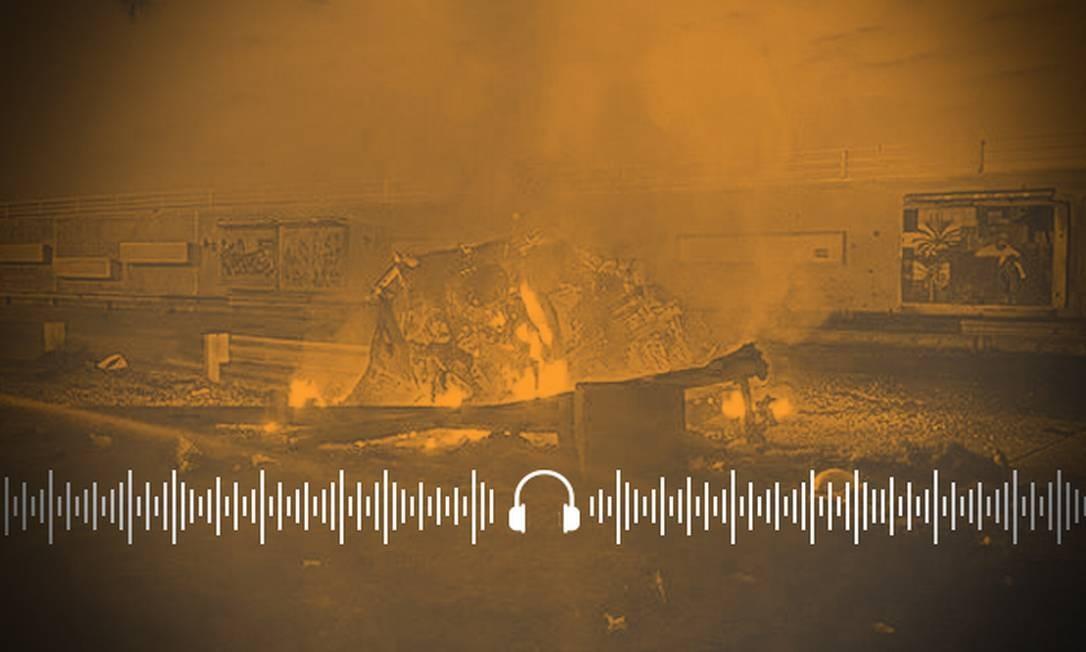 Ataque militar dos EUA a chefe militar o Irã provocou instabilidade no mercado de petróleo Foto: Arte