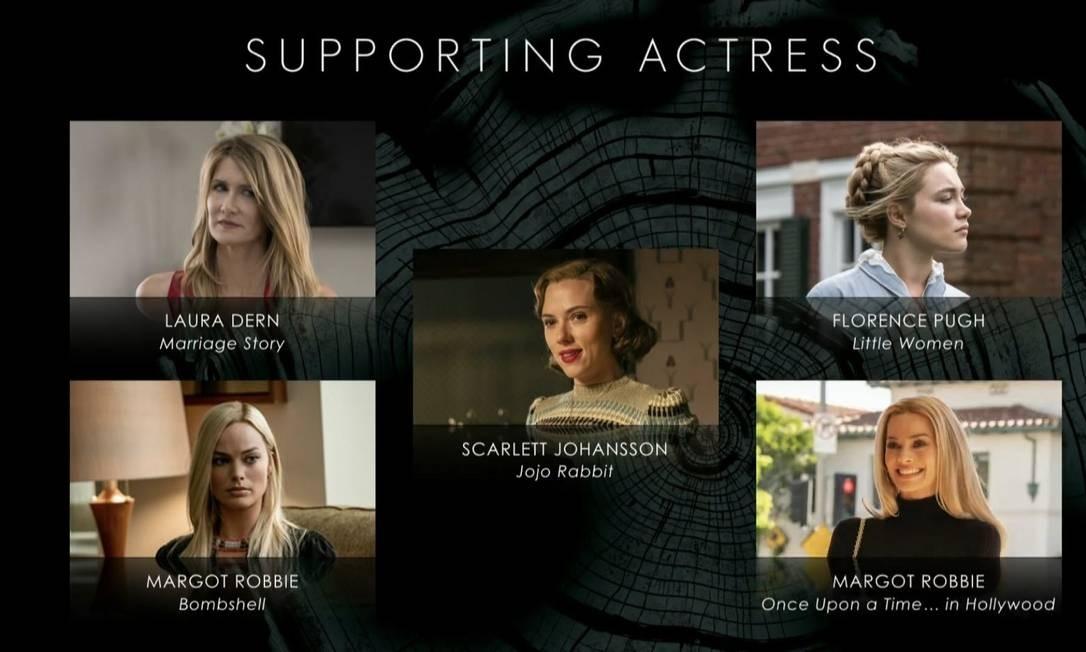 A atriz Margot Robie foi nomeada duas vezes na mesma categoria (melhor atriz coadjuvante) Foto: Reprodução
