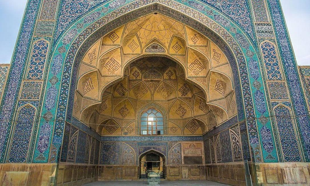 A Grande Mesquita de Isfahan foi listada como Patrimônio da Humanidade em 2012 Foto: Getty Images