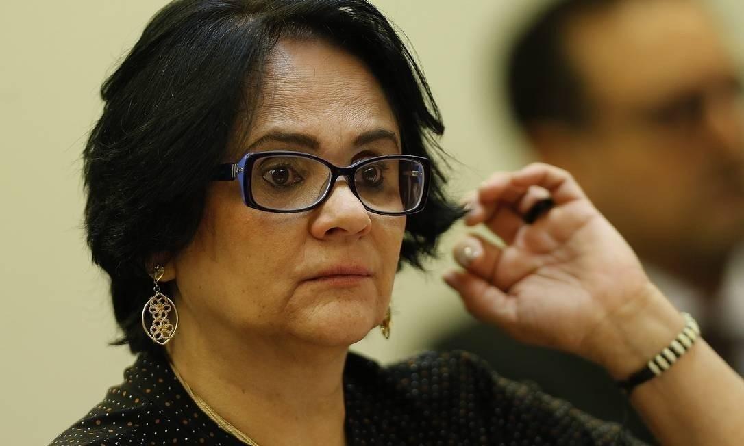 Damares Alves, ministra da Mulher, da Família e dos Direitos Humanos Foto: Jorge William - Agência O Globo