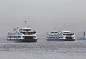 Barcas terão mudanças a partir desta quarta-feira (04-12-2019) Foto: Guilherme Pinto / Agência O Globo