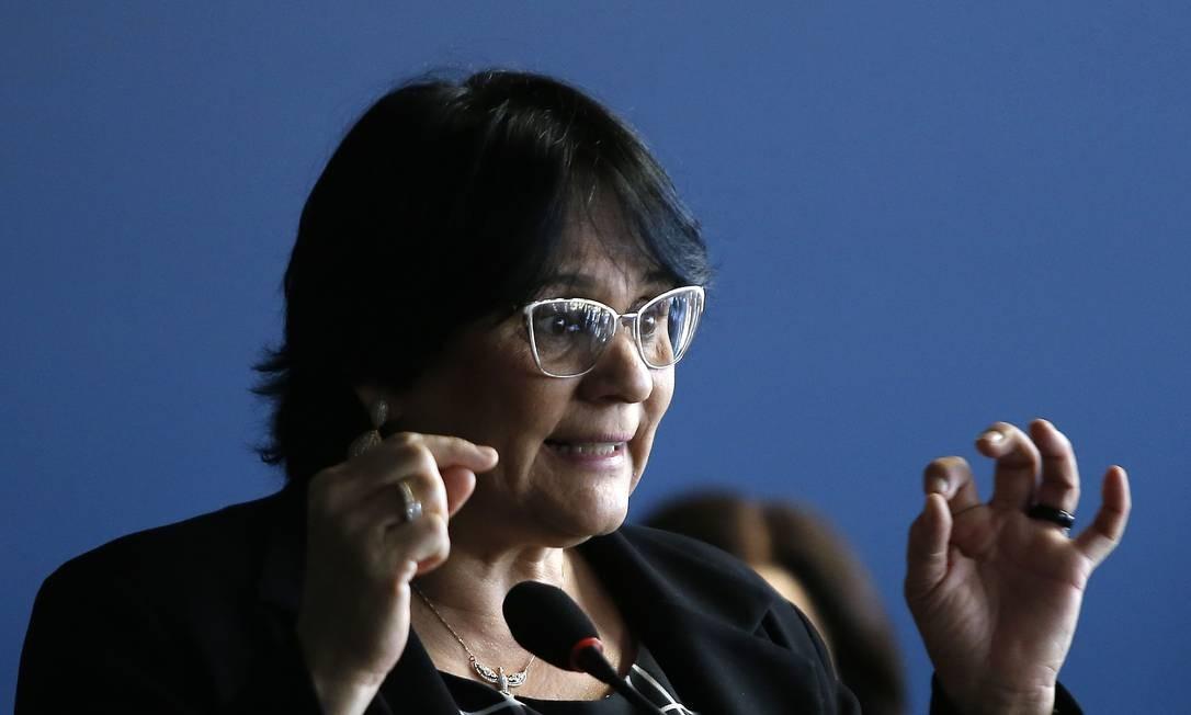 Damares Alves defende abstinência sexual como prevenção de gravidez precoce Foto: Jorge William / Agência O Globo