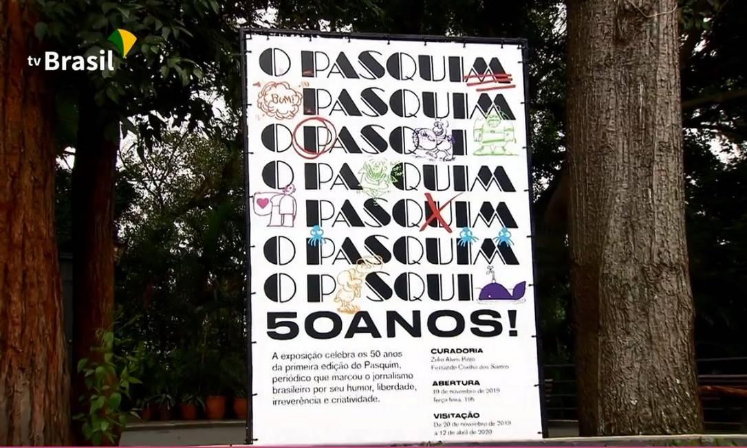 TV Brasil corta trecho sobre prisão de jornalistas na ditadura de programa sobre exposição Foto: Reprodução
