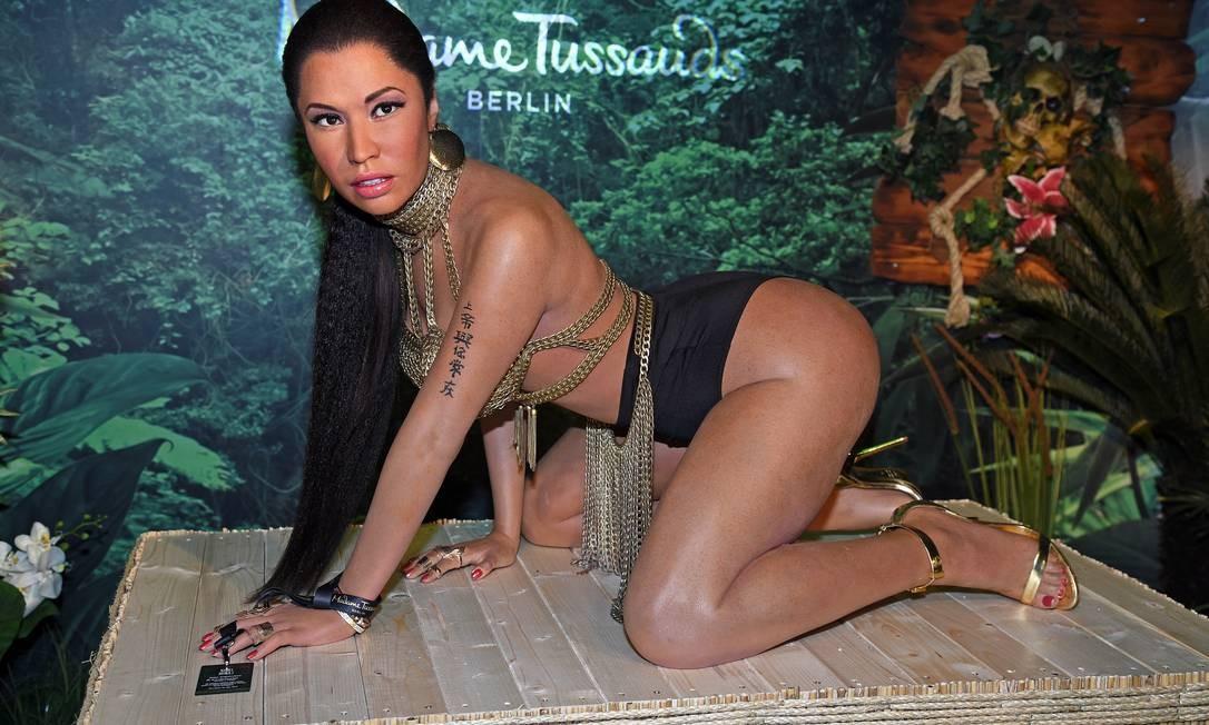 A boneca de cera de Nicki Minaj Foto: Tristar Media / Getty Images