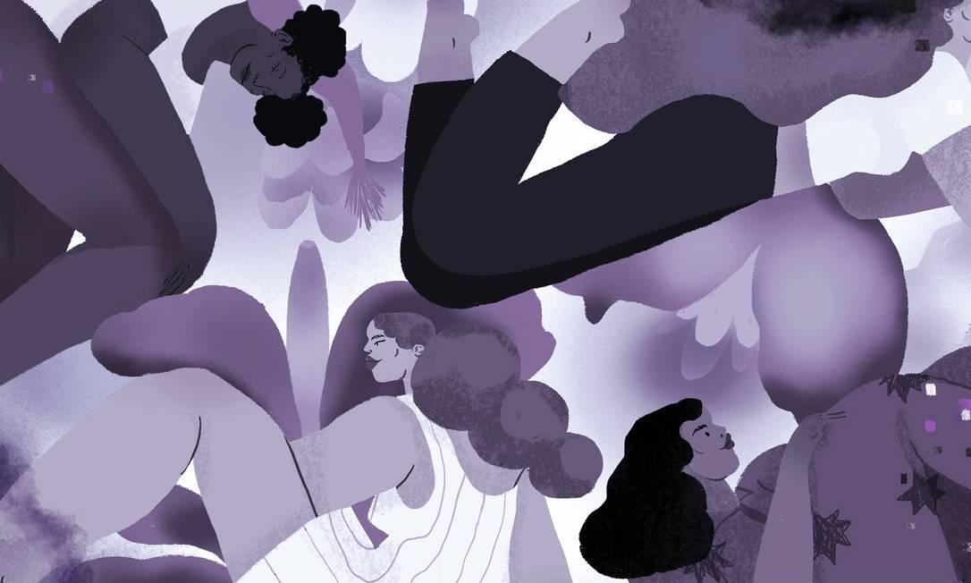 As representações contemporâneas da puberdade e do tesão são, de certa forma, a cura retroativa para as cicatrizes que as mulheres carregam Foto: NYT