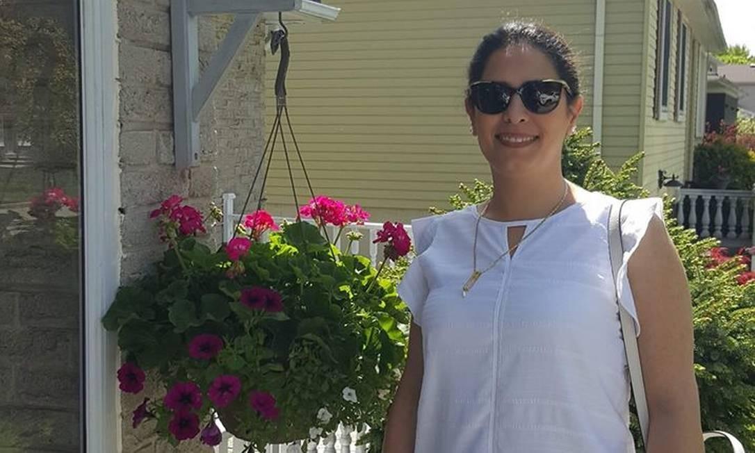 A dentista Parisa Eghbalian, que também foi uma das vítimas do acidente Foto: Reprodução
