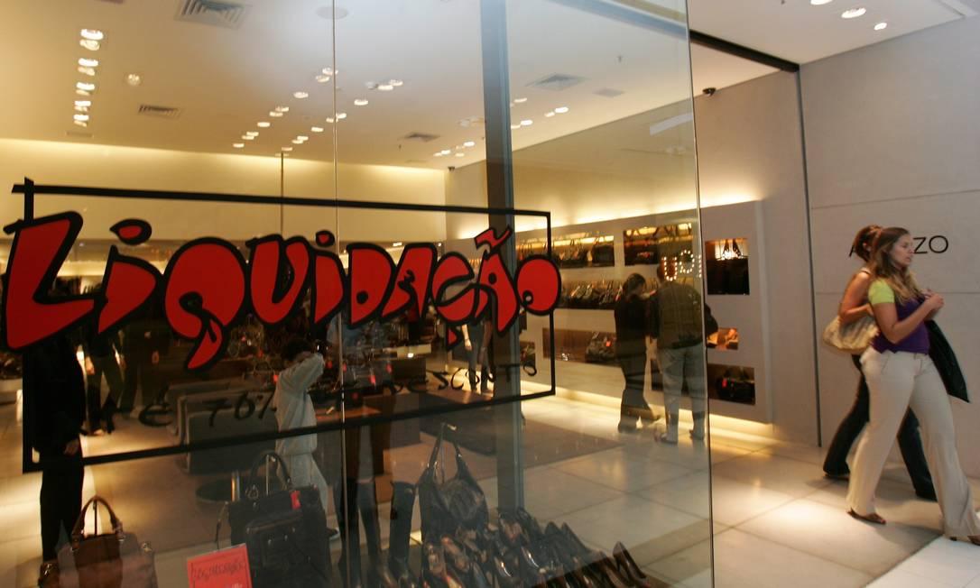 Loja da marca de sapatos Arezzo, que dá nome à holding Arezzo&Co Foto: Marcelo Piu