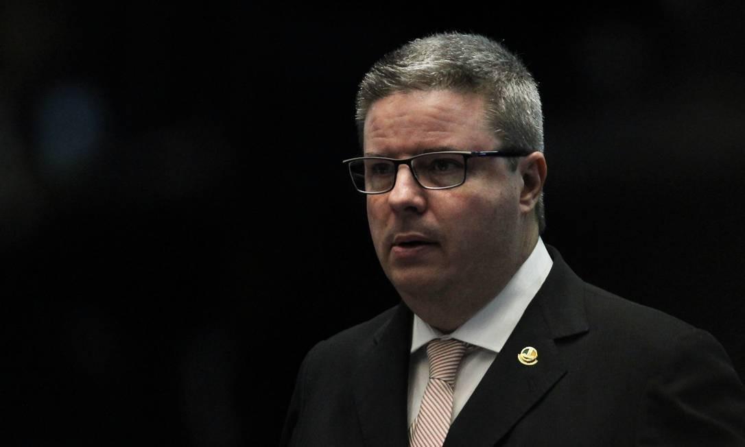 O senador Antônio Anastasia, presidente em exercício do Senado Foto: Jorge William/Agência O Globo