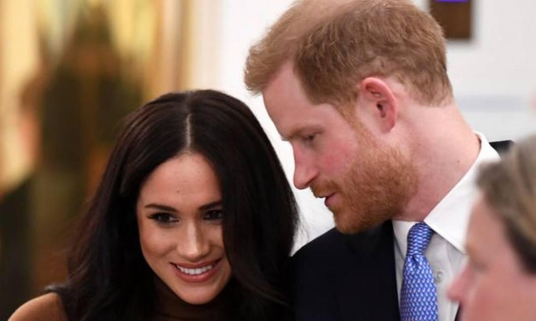 Duque e duquesa de Sussex estão casados desde maio de 2018 Foto: Getty Images