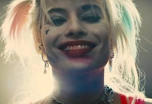 Arlequina é a estrela no novo filme da DC Foto: Divulgação
