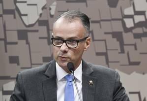 Antônio Barra Torres participa de sabatina no Senado Foto: Leopoldo Silva/Agência Senado/1007-2019