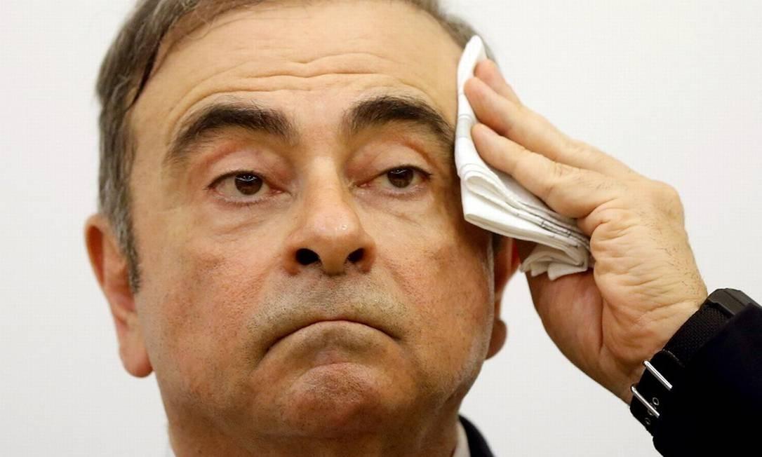 Carlos Ghosn Foto: MOHAMED AZAKIR / REUTERS