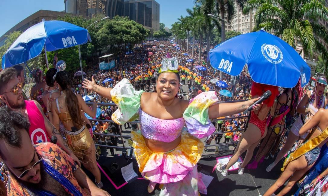 O Bloco da Preta faz ensaio neste sábado no Circo Voador Foto: Felipe Panfili / Agência O Globo