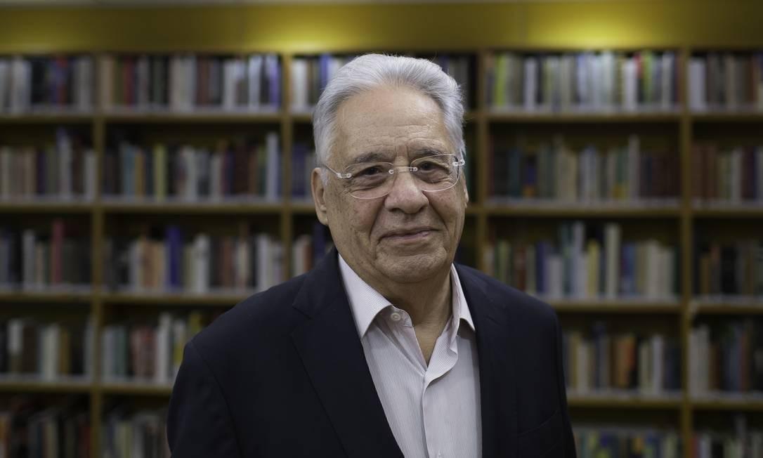 O ex-presidente defendeu prudência do Brasil na questão Foto: Edilson Dantas / Agência O Globo