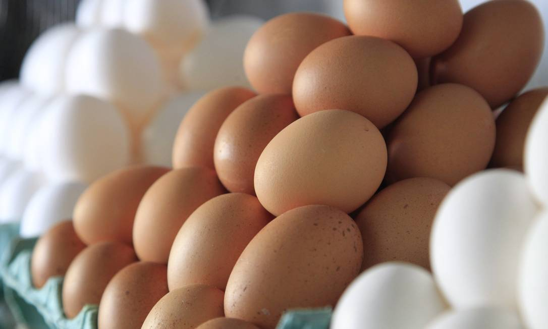 Substituto natural da carne, os ovos também ficaram mais caros em dezembro, o aumento foi de 4,85%. No ano, a alta foi de 14,73% Foto: Fábio Guimarães / Fábio Guimarães
