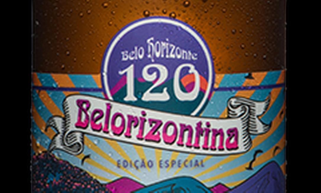 Cerveja Belorizontina, que, segundo laudo preliminar da Polícia Civil de Minas Gerais, teria sido contaminada pelo solvente dietilenoglicol Foto: Reprodução / Cervejaria Backer