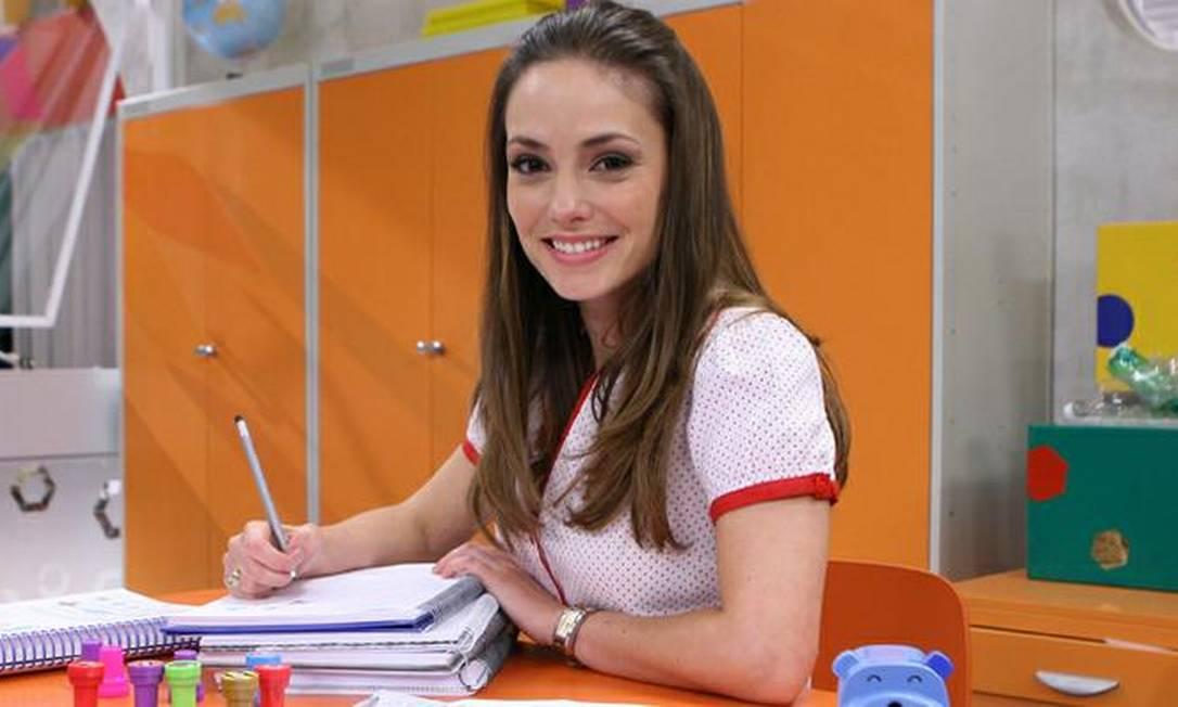 A atriz Rosanne Mulholland, que interpretou a professora Helena em Carrossel, do SBT Foto: Divulgação