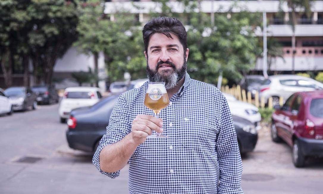 Carlo Lapolli, presidente da Associação Brasileira de Cerveja Artesanal (Abracerva) Foto: Bruno Dupon / Abracerva