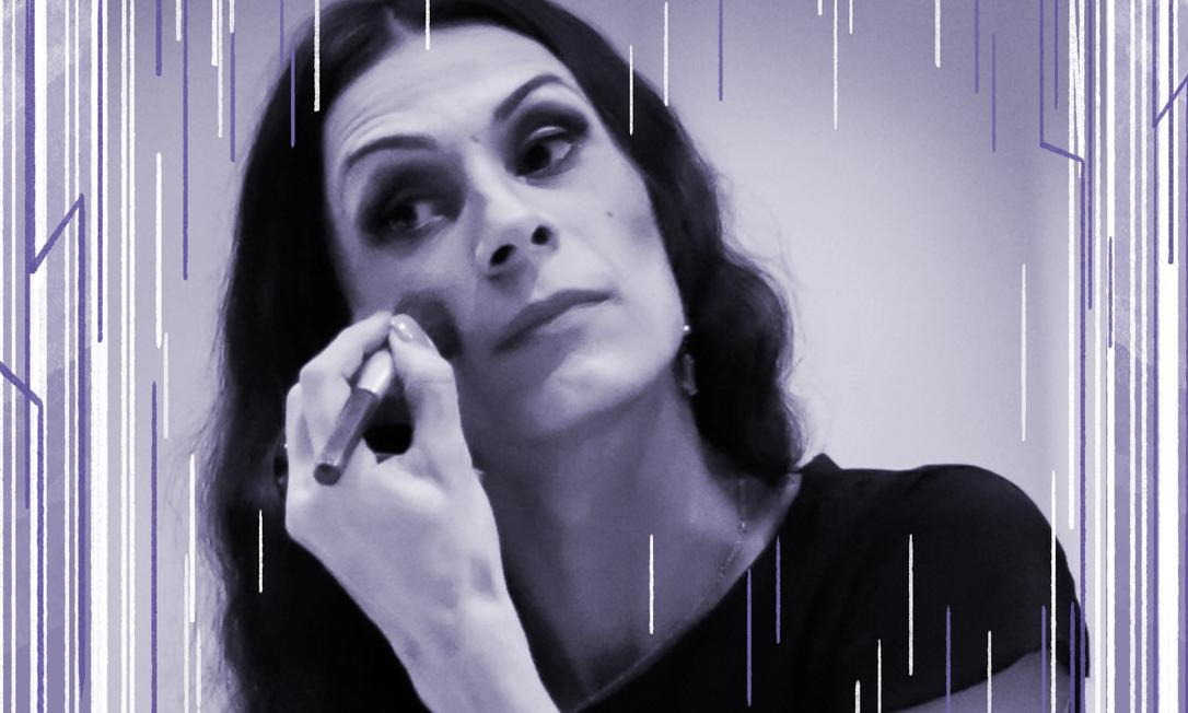 A atriz Renata Carvalho, de 'Evangelo Segundo Jesus, Rainha do Céu' Foto: Foto de divulgação