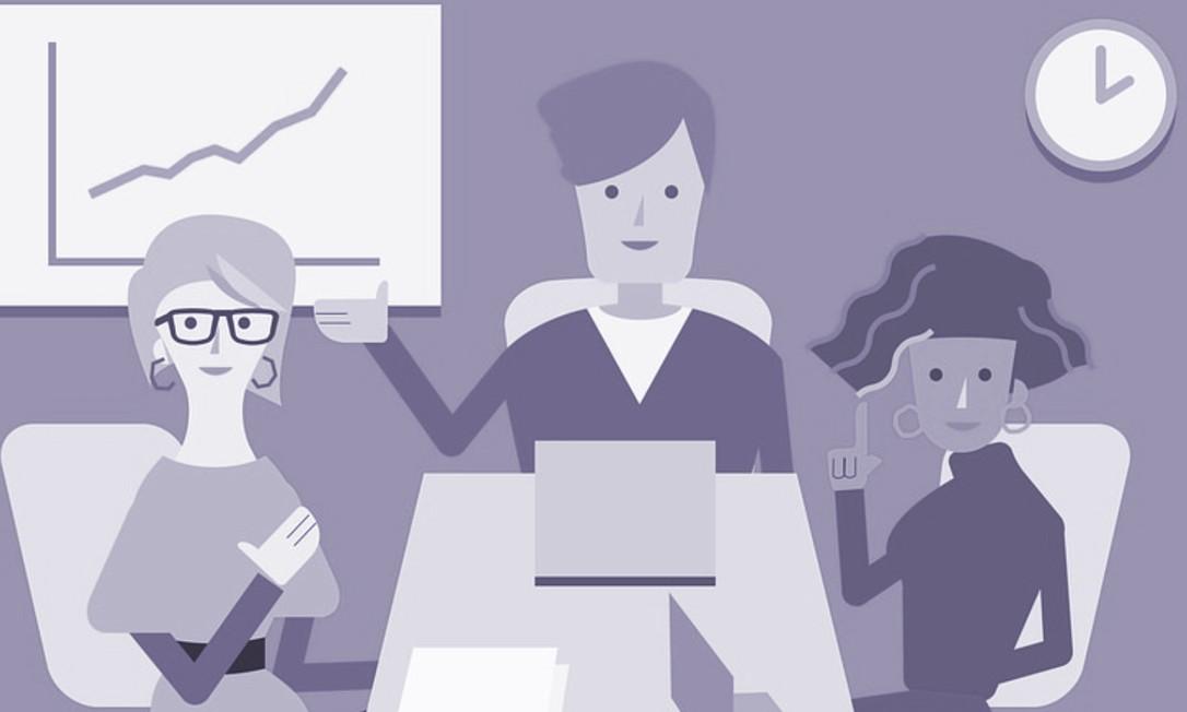 As mulheres estão adotando profissões em que os empregos estão crescendo mais rapidamente, então essa tendência não vai se reverter Foto: Pixabay