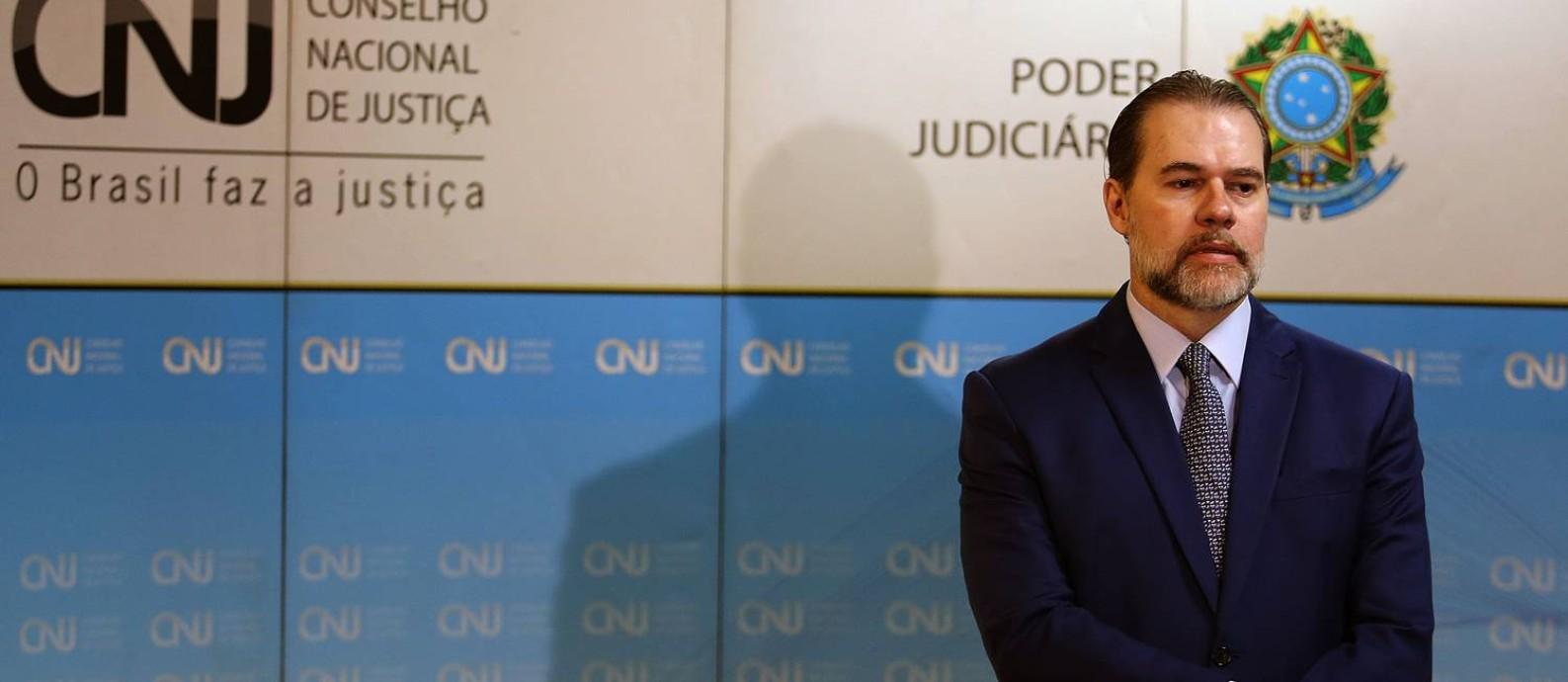 O CNJ tem até dia 15 deste mês para apresentar um plano para a aplicação da nova norma Foto: Jorge William / Agência O Globo