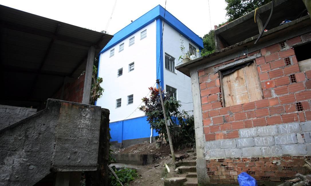 Além da Rocinha,o novo programa das UPPs alcançará em seguida os morros Santa Marta, em Botafogo, e Chapéu Mangueira e Babilônia, no Leme Foto: Marcelo Carnaval / Agencia O Globo