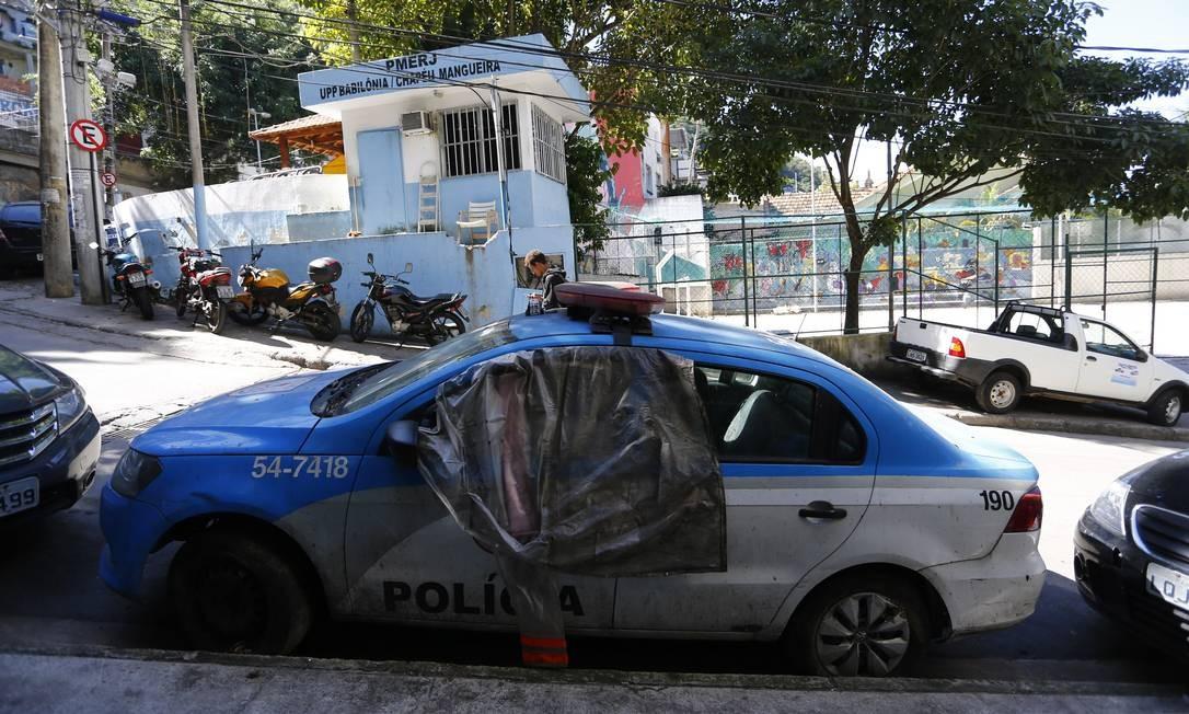 Segundo o secretário de Polícia Militar, coronel Rogério Figueredo de Lacerda, que está à frente do projeto, agora a fase é de reativar o patrulhamento comunitário Foto: Pablo Jacob / Agência O Globo