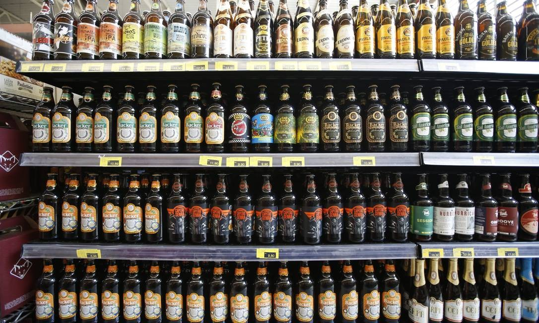 Dietilenoglicol foi encontrada em cervejas da Backer, mas empresa diz que não usa substância tóxica no processo Foto: O Tempo / FOTO : Cristiane Mattos / O Temp