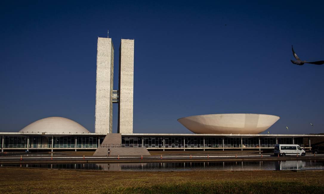 BRASIL - Brasilia, DF - 13/09/2019 - Fotos da fachada do Congresso Nacional,. Foto: Daniel Marenco Foto: Daniel Marenco / Agência O Globo