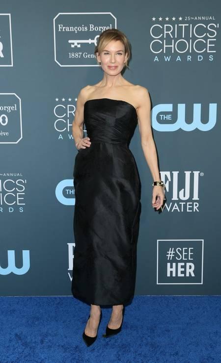 Renée Zellweger vestiu Dior Foto: DANNY MOLOSHOK / REUTERS