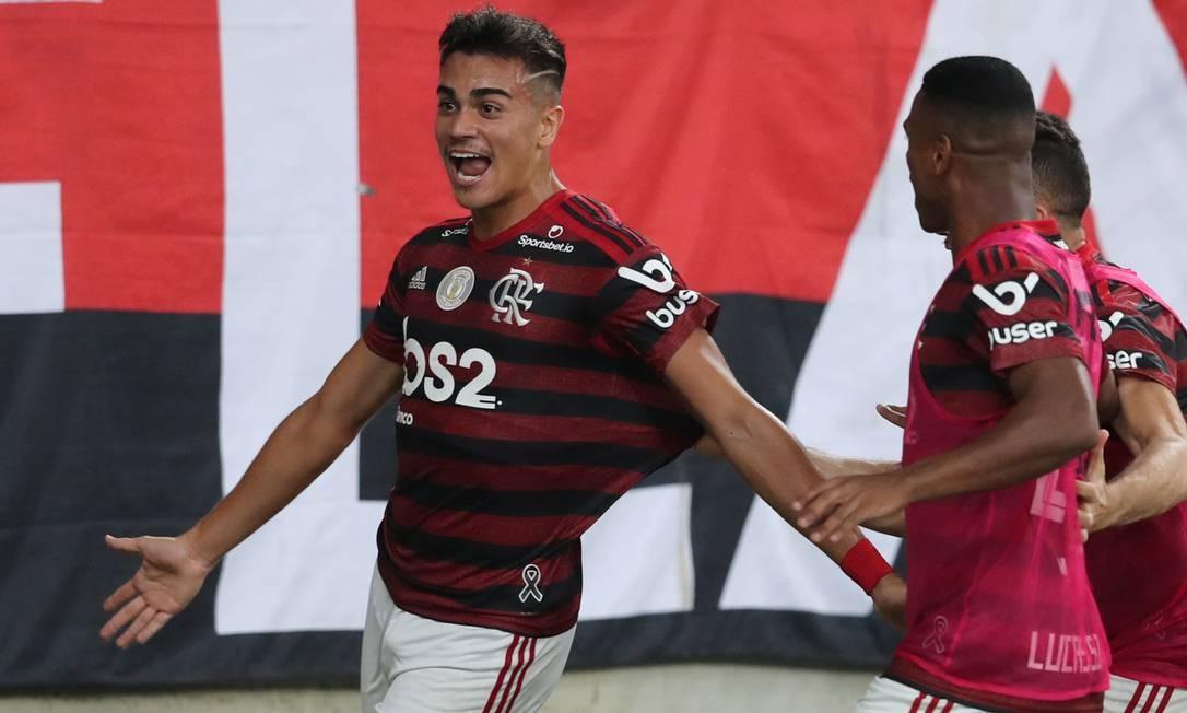 Reinier reforçará o Real Madrid e os cofres do Flamengo Foto: SERGIO MORAES / Reuters