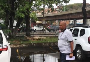 Luís Carlos Marques é irmão do promotor de eventos da Mocidade que foi morto a tiros Foto: Rafael Nascimento