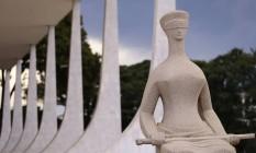 Fachada do Supremo Tribunal Federal, em Brasília Foto: Jorge William / Agência O Globo