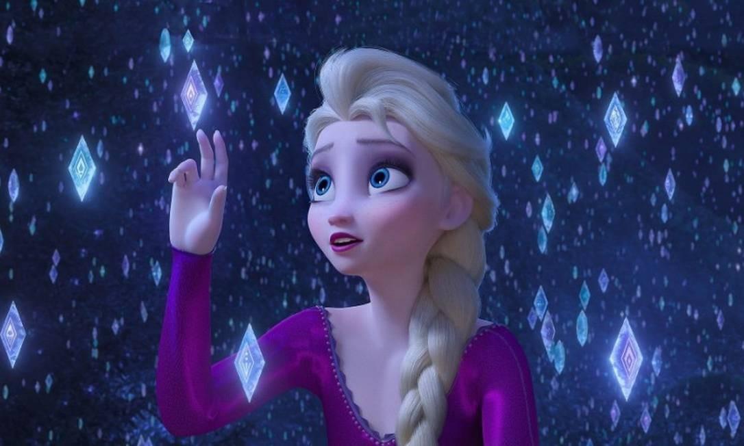 Após 'Frozen' levar o prêmio de melhor animação em 2014, a sequência do sucesso não entrou nem na lista dos indicados. A produção disputa apenas a categoria canção original, por 'Into the unknown'. Foto: Divulgação