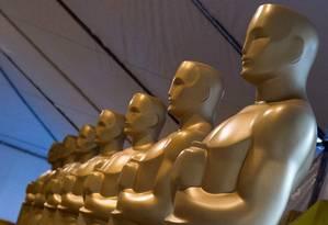 Estátuas do Oscar Foto: VALERIE MACON / AFP