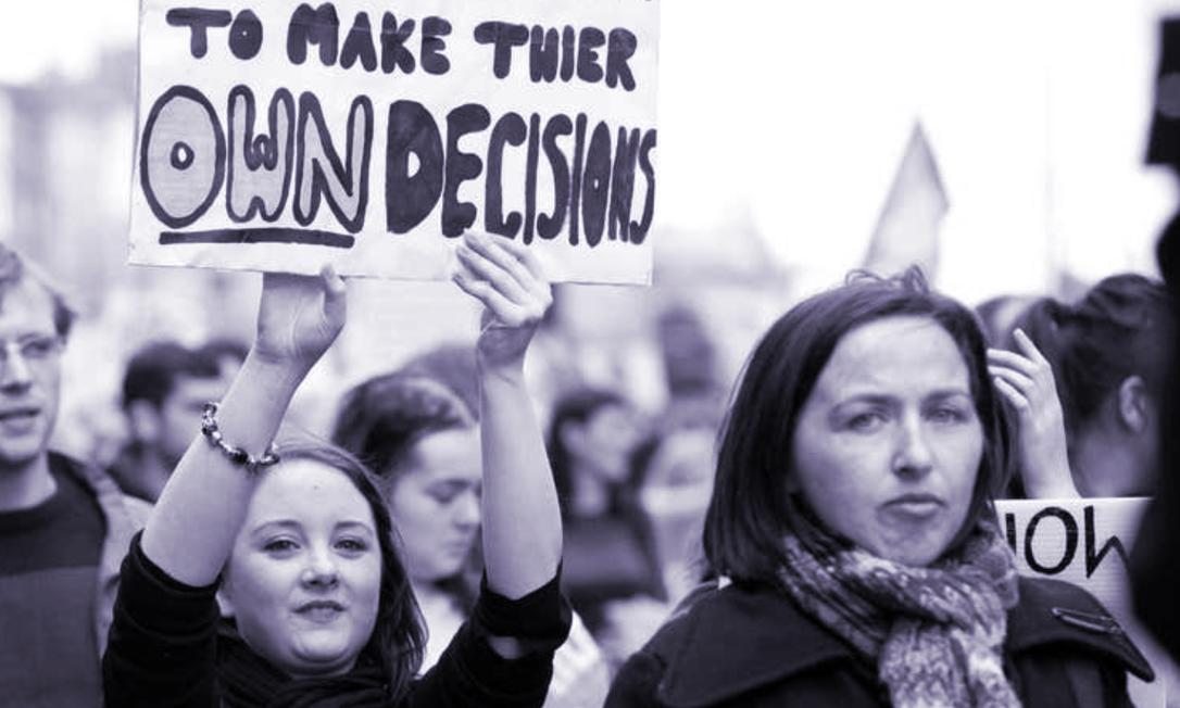 Estudo comandado por pesquisadora da Universidade da Califórnia afirma que 95% das mulheres que fazem um aborto sentem alívio Foto: Independent