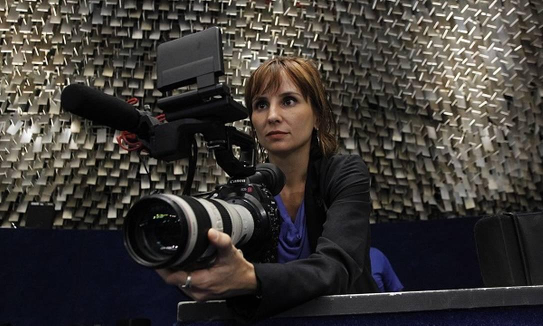 Petra Costa pode se tonar a primeira latino-americana a ganhar um Oscar como diretora Foto: Givaldo Barbosa / Agência O Globo