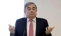 Ghosn: ação contra Renault. Foto: JOSEPH EID / AFP