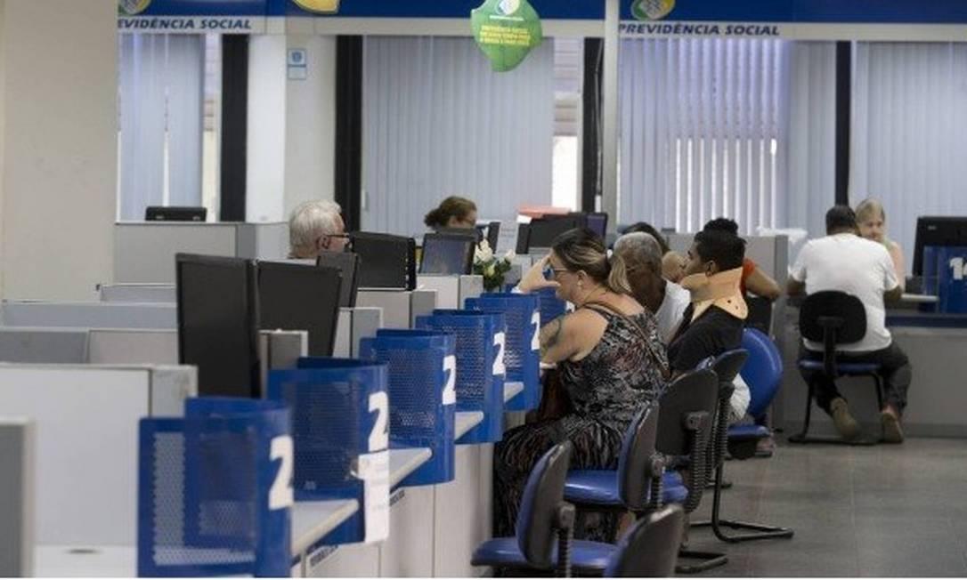 Segurados do INSS: reajuste anual dos que ganham acima do salário mínimo será pago nos cinco primeiros dias úteis de fevereiro Foto: Márcia Foletto / 15.01.2019 Foto: Márcia Foletto / Agência O Globo