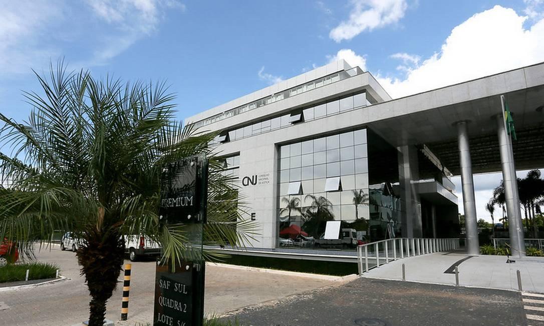 Fachada do prédio do Conselho Nacional de Justiça Foto: Divulgação