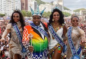 Corte momesca para representar o Rio em 2020 Foto: Fernando Maia/Divulgação