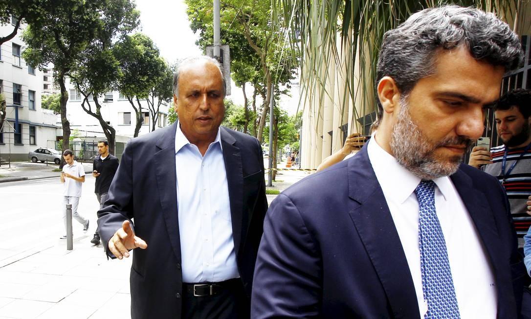 O ex-governador Pezão responde pelos crimes de corrupção ativa e passiva, lavagem de dinheiro e organização criminosa Foto: Guilherme Pinto / Agência O Globo