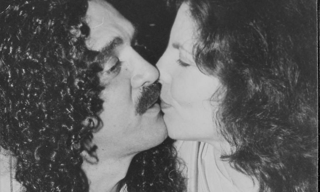 O cantor e sua ex-mulher Marília Foto: Paulo de Deus / Divulgação