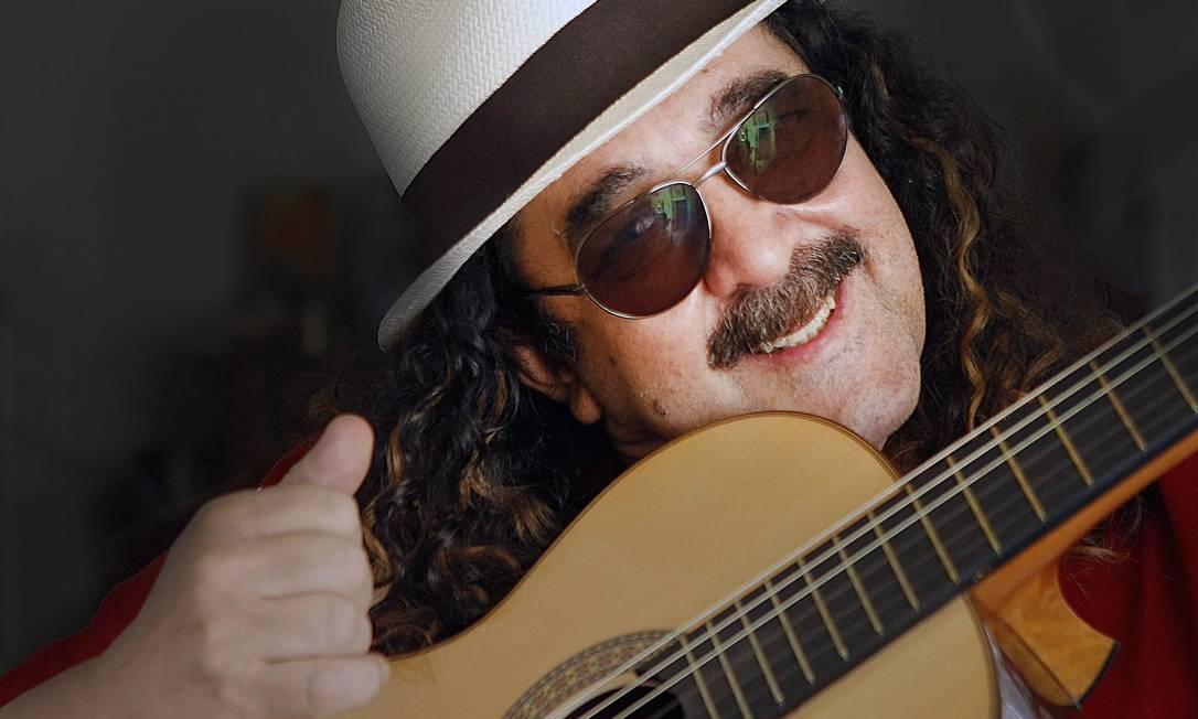 O cantor e compositor Moraes Moreira, retratado em 2010 Foto: Leonardo Aversa / Agência O Globo