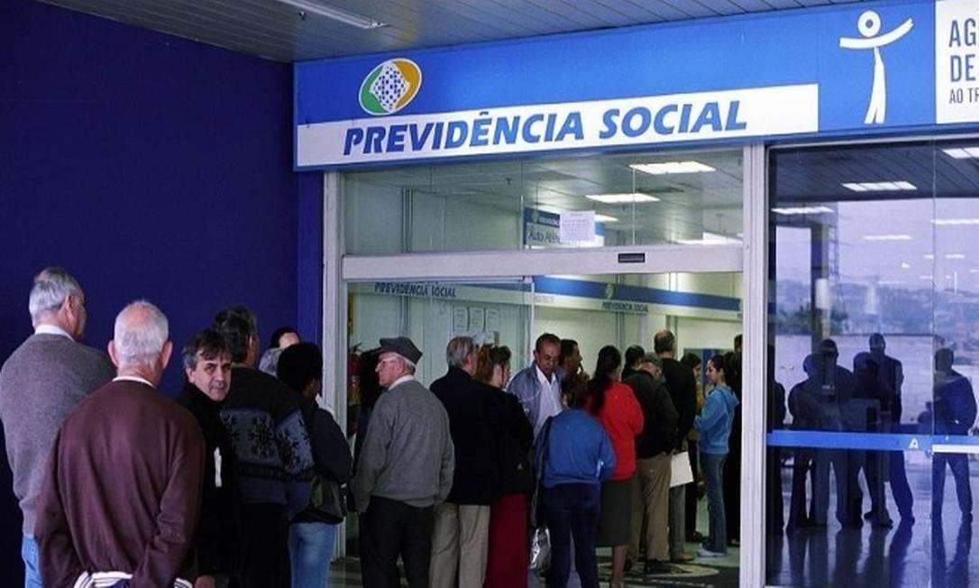 Auditoria apontou que o INSS não cumpre prioridades legais ao escolher tarefas pendentes no sistema do INSS Digital Foto: Agência O Globo