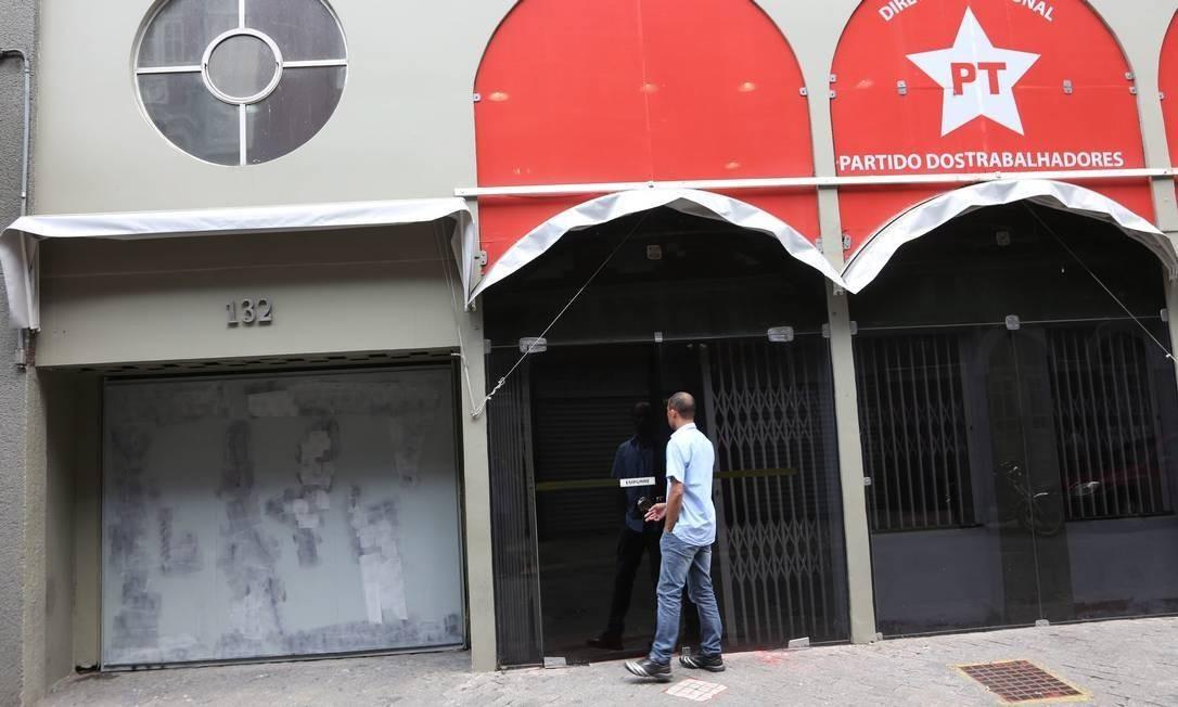 Sede do PT em São Paulo Foto: Marcos Alves / Agência O Globo