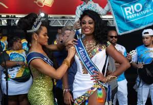 Camila foi coroada rainha do carnaval carioca Foto: Fernando Maia / Divulgação