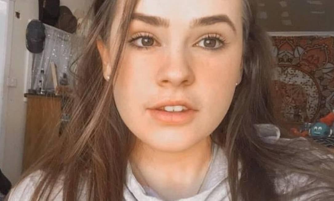 Courtney Partridge-McLennan, de 19 anos, morreu após um ataque de asma na Austrália, país assolado por uma crise de incêndios Foto: Reprodução Facebbok