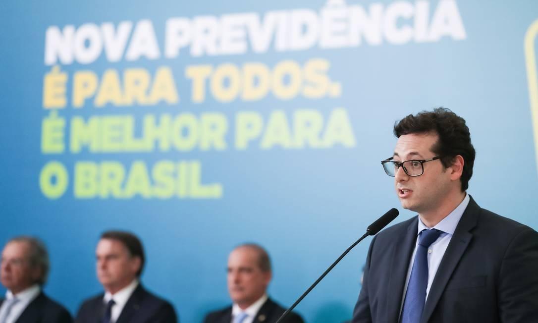 O secretário de Comunicação Social do governo Bolsonaro, Fábio Wajngarten, Foto: Marcos Corrêa / Agência O Globo